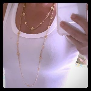 Gold Ralph Lauren necklace